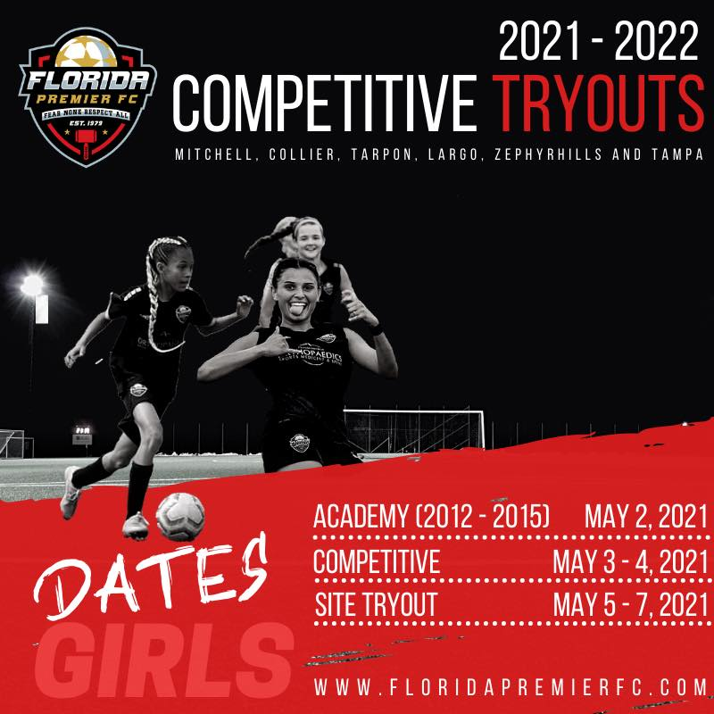 Girls Tryout Dates